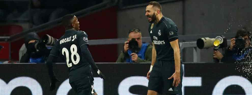 Lío de celos en el Real Madrid: la puñalada que deja a Benzema (y a Vinícius) con la boca abierta