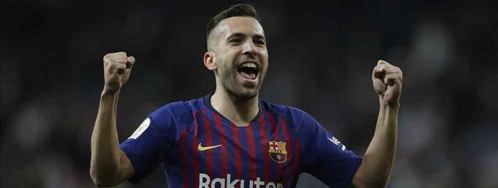 Messi está de enhorabuena. Tras meses presionando a la directiva, al final ha logrado su gran objetivo: la renovación de Jordi Alba, que ayer se hizo oficial, y que estampa su firma hasta 2024.