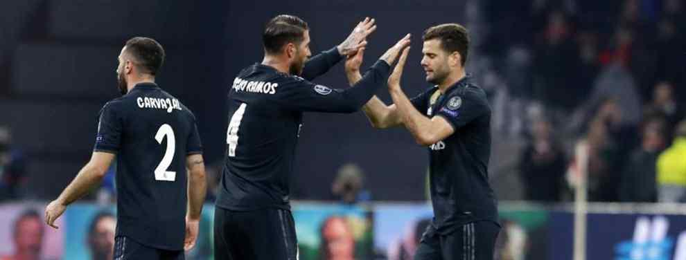 Florentino Pérez se ha adelantado al Barça. El presidente del Real Madrid ha aprovechado la indecisión del cuadro culé para cerrar el fichaje de Adrien Rabiot.