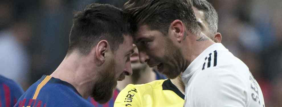 Florentino Pérez y Messi pelean por el mismo jugador para el lateral izquierdo (y hay lío)