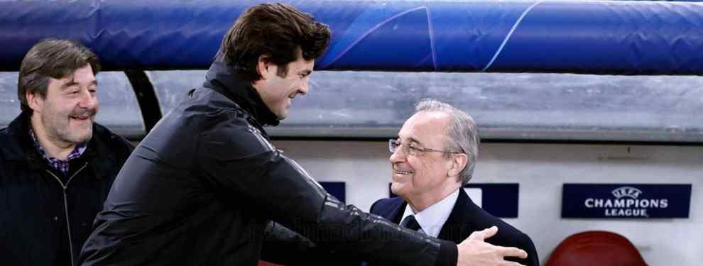 El viaje a Londres de Florentino Pérez que cierra el próximo entrenador del Real Madrid