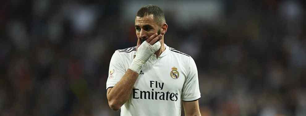 ¡A tiro! El delantero que ofrecen al Real Madrid para cargarse a Benzema (es más barato que Kane)