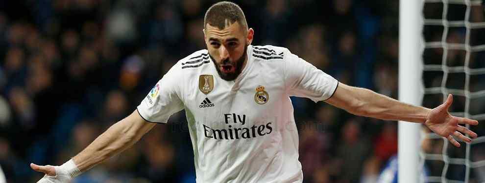 El nuevo (y sorprendente) objetivo de Florentino Pérez para echar a Karim Benzema del Real Madrid