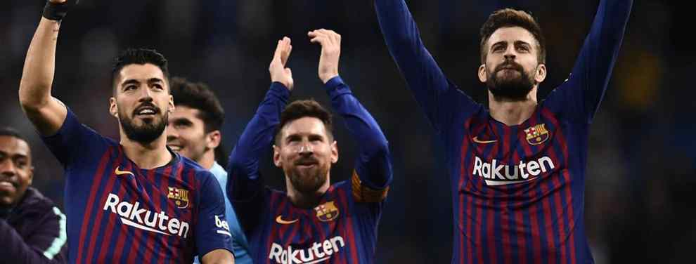 Messi, Luis Suárez y Piqué acuerdan quién será el nuevo galáctico del Barça