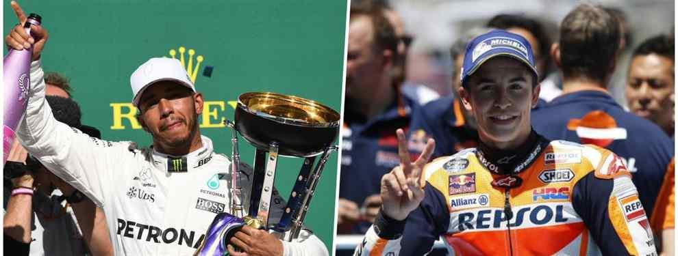 Hamilton ya probó un Superbike en el pasado, y ahora se está cocinando un nuevo reto que podría terminar con Lewis a lomos de una Yamaha de MotoGP. De entrada, Hamilton anuncia su presencia en Qatar para el arranque del Mundial.