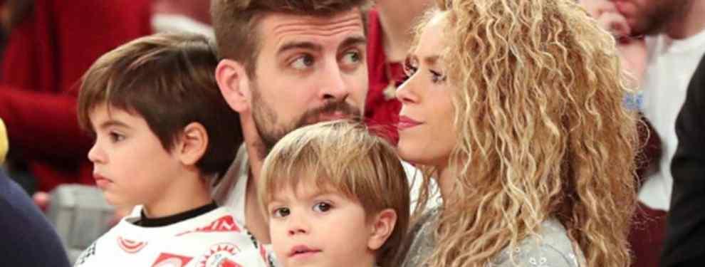 La foto de Shakira con su hijo con Piqué que desata ataques bestiales