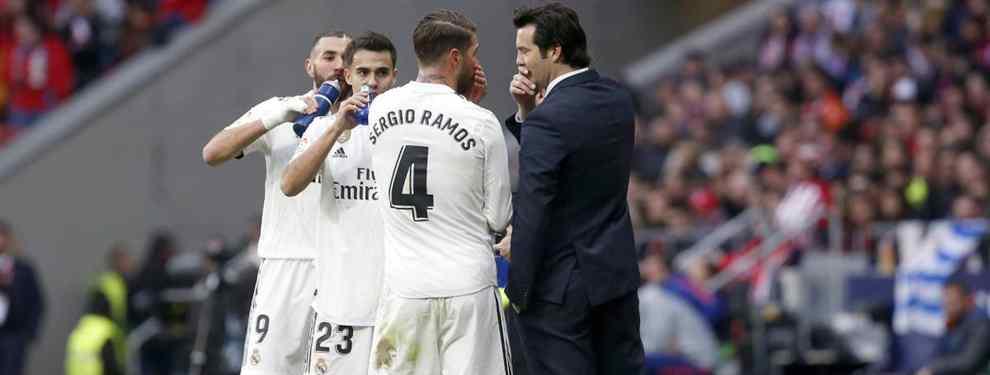 Sergio Ramos tiene un bronca bestial con Solari: el lío que dinamita el Real Madrid-Ajax
