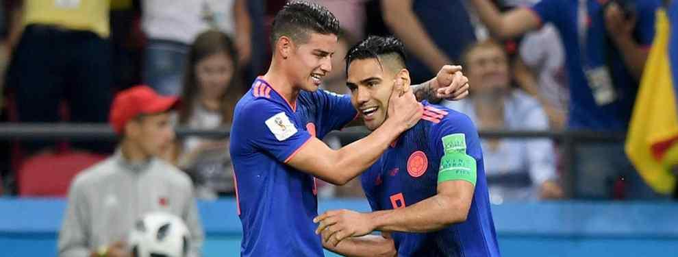 Falcao jugará con James Rodríguez: la oferta que sacude España (y Colombia)
