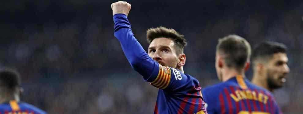 Venta cerrada: Messi echa a patadas a un descarte del Barça (y tiene un destino sorprendente)