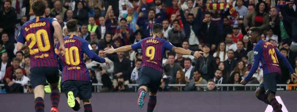 El Barça quiere pescar en la Premier League. El cuadro culé tiene un objetivo en Inglaterra, concretamente en Londres, la capital, donde ya se encuentran negociando varios emisarios.
