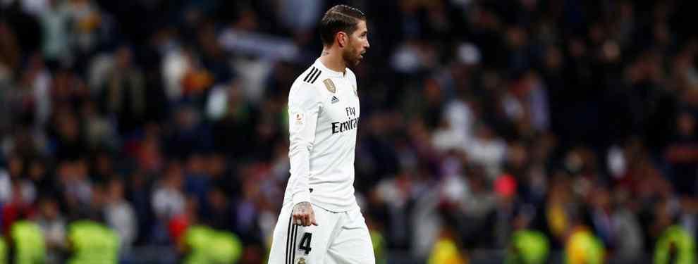 """Portazo a Florentino Pérez. Sergio Ramos le pide que venga al Real Madrid. Y dice: """"No"""""""