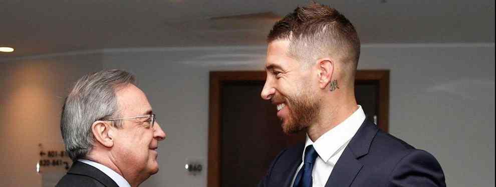 La bronca bestial de Florentino Pérez con Sergio Ramos que arrasa el Real Madrid