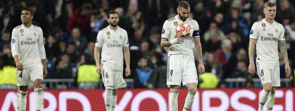 Tras ver el desastre del Real Madrid en la Champions League, pocos jugadores están dispuestos a mudarse a Chamartín. En estas condiciones, de ninguna manera. Piden cambios.