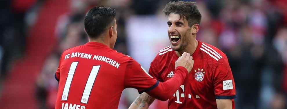 James Rodríguez tiene un ojo puesto en el Bayern y otro en el Real Madrid.  El colombiano vivió la eliminación de equipo de Solari como un aficionado blanco más. Una debacle que tiene, eso sí, su parte positiva para el 'cafetero'.