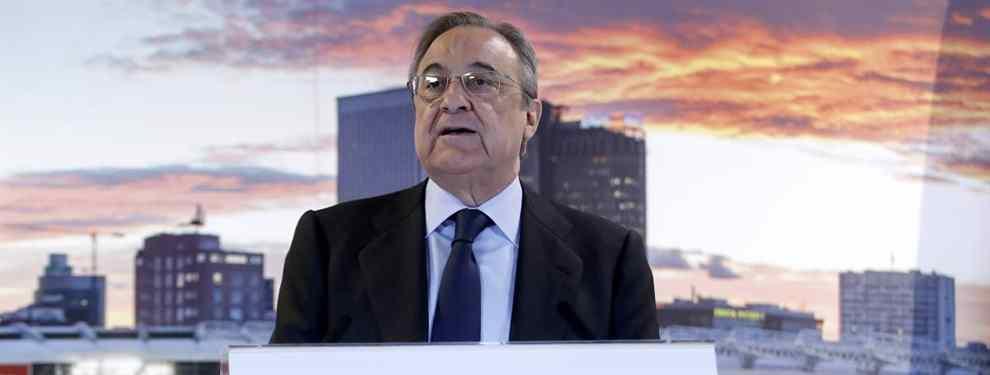70 millones: Florentino Pérez negocia por un galáctico para el Real Madrid (y no es delantero)