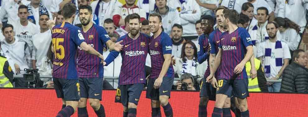Piqué, Messi y Luis Suárez saben el mayor escándalo del Real Madrid (y Florentino intenta taparlo)