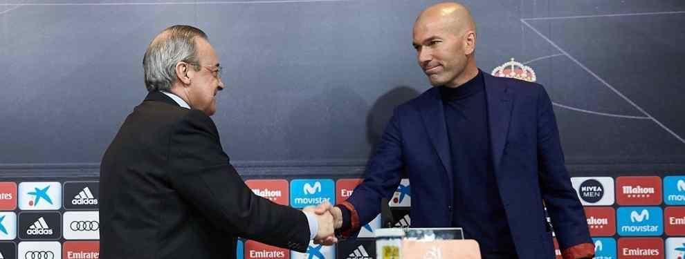 Zidane no es un nuevo nato en esto del fútbol. El técnico francés se está pegando, avisan, un hartón a reír ante las informaciones que salen del Real y que hablan de su vuelta al Santiago Bernabéu.