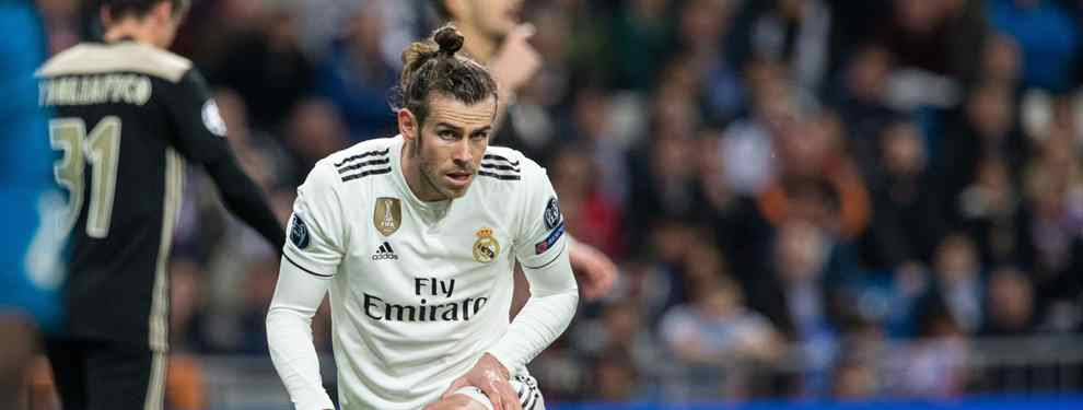 Gareth Bale lo tiene todo: casa, acuerdo y contrato millonario.  El galés presiona estos días a Florentino Pérez para que acepte una oferta a la baja, pero escandalosamente buena para sus intereses, del Manchester United.