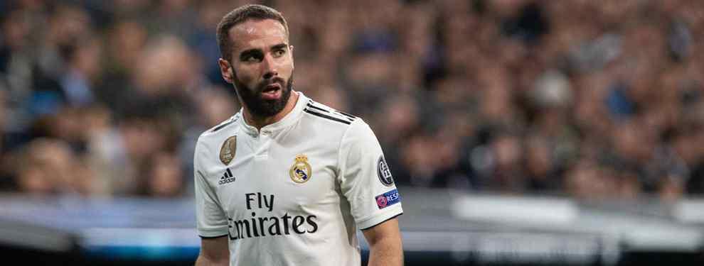 Carvajal está en la calle: Florentino ya tiene a su relevo para el Real Madrid (y no creerás quién)