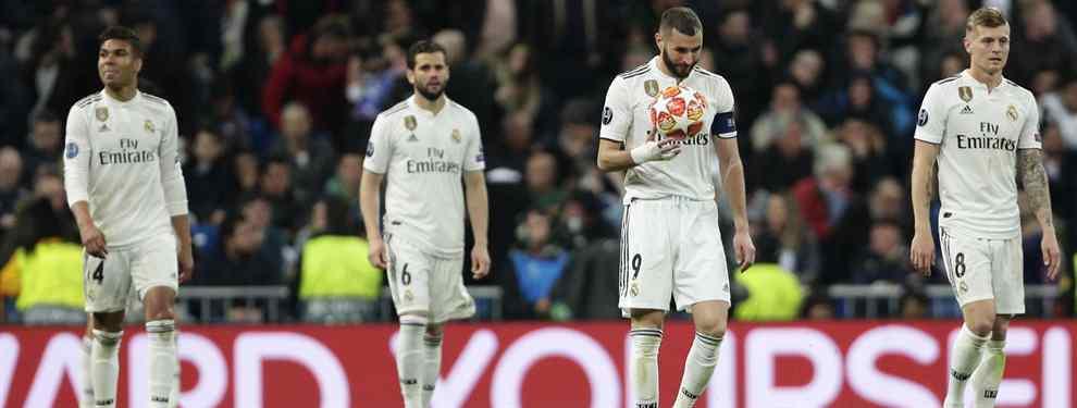 Florentino Pérez arrasará el vestuario del Real Madrid. El presidente tiene un mosqueo de narices y así lo demostró al finalizar el choque en el que el equipo blanco cayó eliminado y fue masacrado por el Ajax.