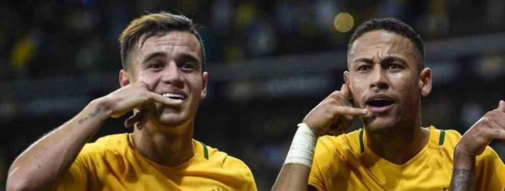 Neymar desvela dónde jugará Coutinho (y no es en el PSG): La oferta que escandaliza al Barça