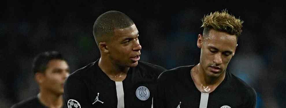 El sorprendente entrenador que Neymar pide al PSG para no ir al Real Madrid de Florentino Pérez