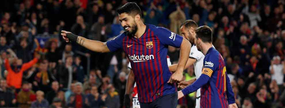 El delantero chollo que negocia con el Barça para ser el nuevo Luis Suárez