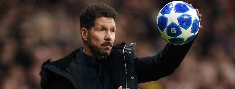 Simeone pretende ser verdugo del Real Madrid. El 'Cholo', que ya ha mostrado su odio hacia el eterno rival en repetidas ocasiones, quiere levantarle un crack a Florentino Pérez.