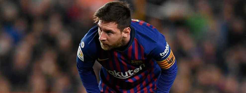 Niega a Florentino Pérez (y al Real Madrid) para fichar por el Barça de Messi