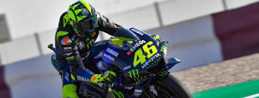 Valentino Rossi no ha venido a su enésimo Mundial de MotoGP a ser comparsa.  El italiano se dejaba el cuello en carrera para terminar quinto, pero evidenciaba que la Yamaha volvió a estar a años luz de las Honda y Ducati.
