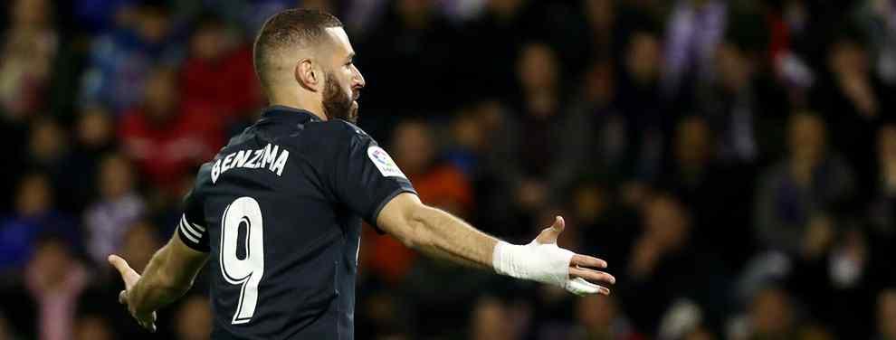 Harto. Karim Benzema ha recibido de valiente este curso a pesar de ser de lo mejor de un Real Madrid en caída libre.  El francés pasa del aplauso al palo con una facilidad que irrita a un jugador cansado de vivir en una montaña
