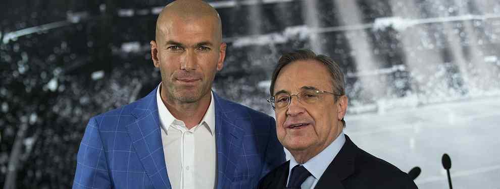 Florentino Pérez ha tenido que acceder a todas las peticiones de Zinedine Zidane. No le quedaba otra si quería ver al galo de vuelta como entrenador del Real Madrid.