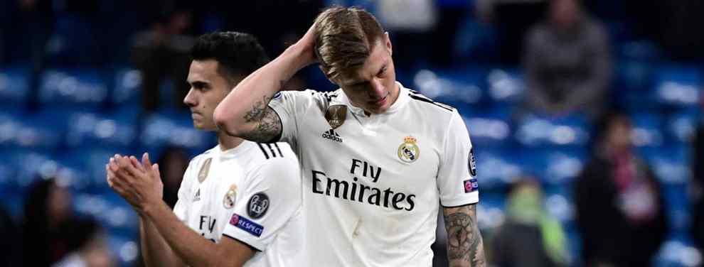 El futuro de Toni Kroos no pasa por el Real Madrid. O, al menos, eso parece. El alemán sigue a un nivel muy por debajo de las expectativas y desde el club ya se han hartado de su actitud.