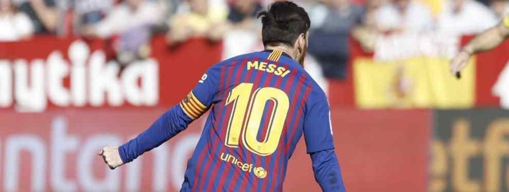 Cambia a Messi por Zidane: el galáctico que pasa del Barça para negociar con Florentino Pérez