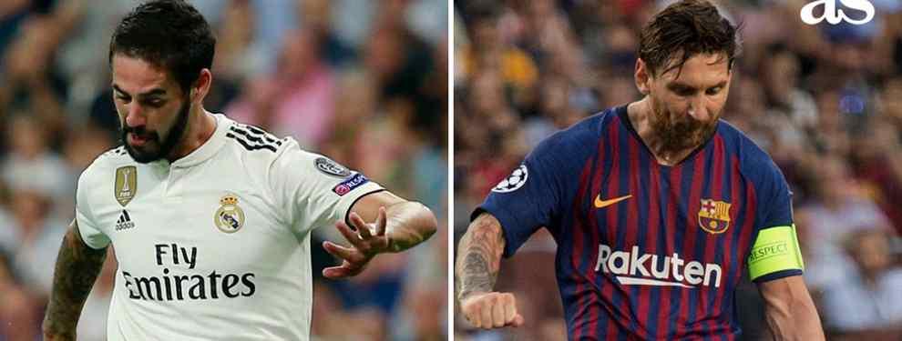 La frase (y es a Messi) que mata a Isco con Florentino Pérez, Zidane y en el Real Madrid