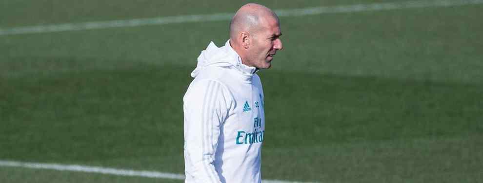 Zinedine Zidane bloquea una salida cantada en el Real Madrid (y Florentino Pérez lo quiere fuera)