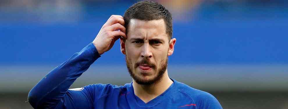115 millones de euros. Ese es el precio que el Chelsea ha puesto a su gran estrella, Eden Hazard. El cuadro 'blue' da por perdida la batalla y se resigna a perder al belga.