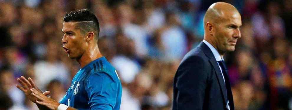 La llamada de Zidane a Cristiano Ronaldo que arrasa en el Real Madrid