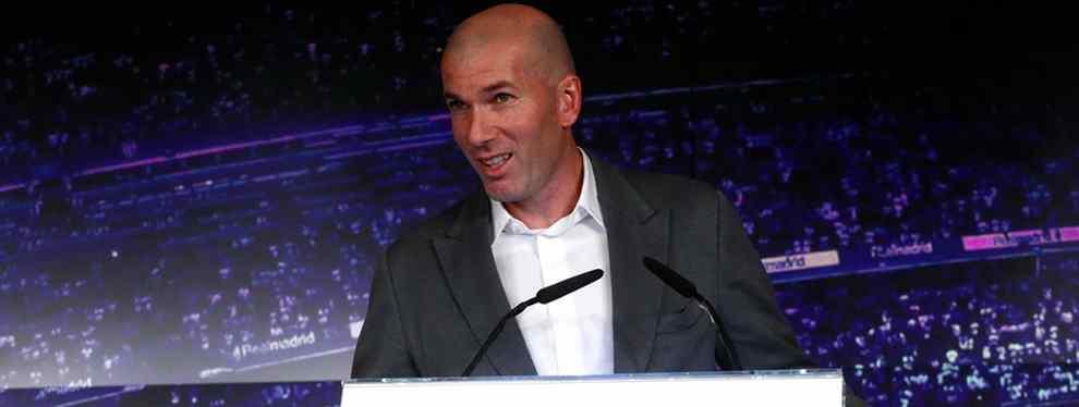 100 millones y al Real Madrid: la apuesta de Zidane en la lista de fichajes de Florentino Pérez