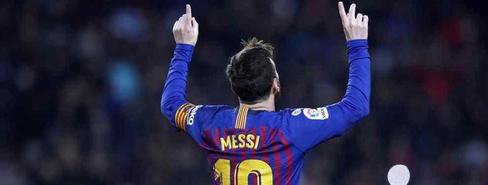 Messi tiene tres bombas para tapar la boca a Zidane (y a Florentino Pérez)