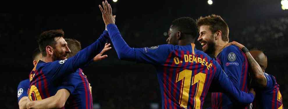 El Barça sigue a lo suyo. A pesar de la clasificación a los cuartos de final de la Champions League, el cuadro azulgrana ya piensa en la temporada que viene.