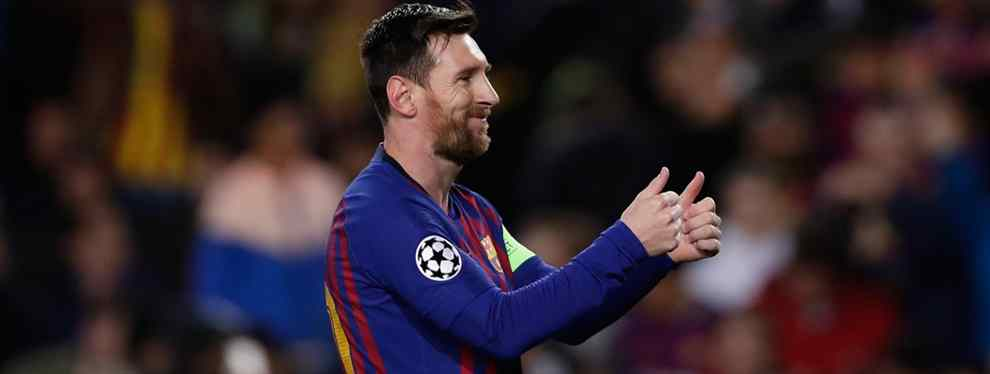 El plan del Barça para jubilar a Messi (cuando él quiera): los cinco fichajes a lo Florentino Pérez