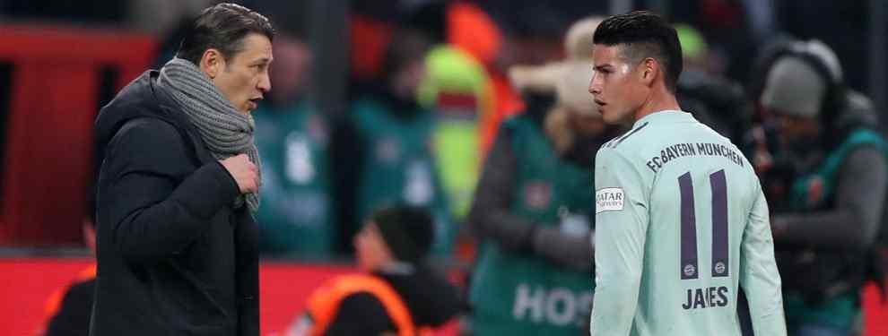La trifulca más bestia con James Rodríguez (y Niko Kovac) en el Bayern de Múnich