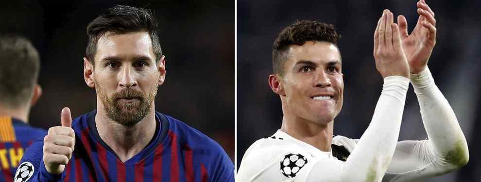 La trampa de Messi a Cristiano Ronaldo que llega a Piqué, Suárez, Sergio Ramos (y al Real Madrid)