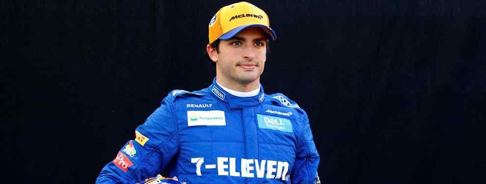 Carlos Sainz calla el mayor escándalo de McLaren