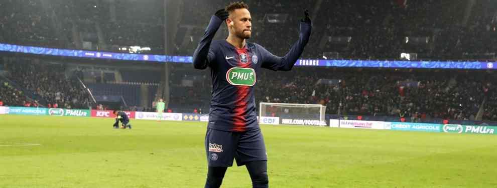 Neymar pide este delantero a Florentino Pérez para cambiar el PSG por el Real Madrid de Zidane