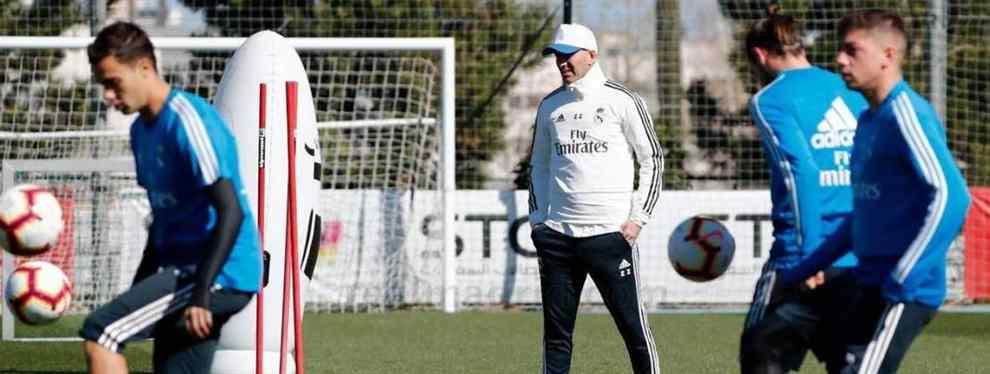 La lista negra de Zidane viene con sorpresa bomba: los jugadores que Florentino Pérez pone en venta
