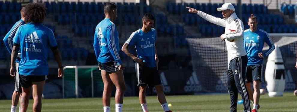 El tapado que Zidane pide a Florentino Pérez para el Real Madrid: y ya ha sido ojeado