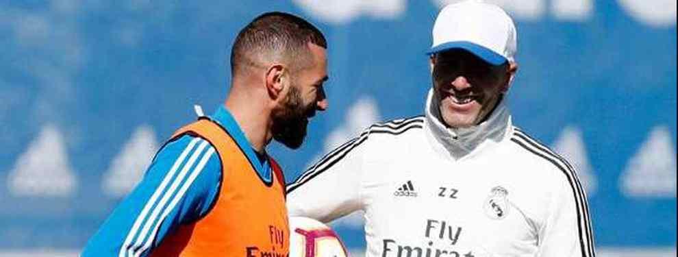 Zidane tiene una enganchada bestial con un protegido de Florentino Pérez en el Real Madrid