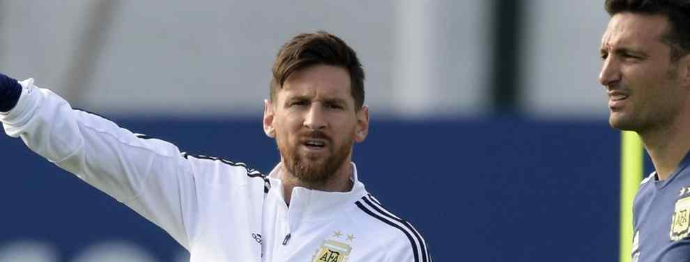 El crack argentino que se ha puesto a tiro para el Barça (y Messi no quiere ni en pintura)